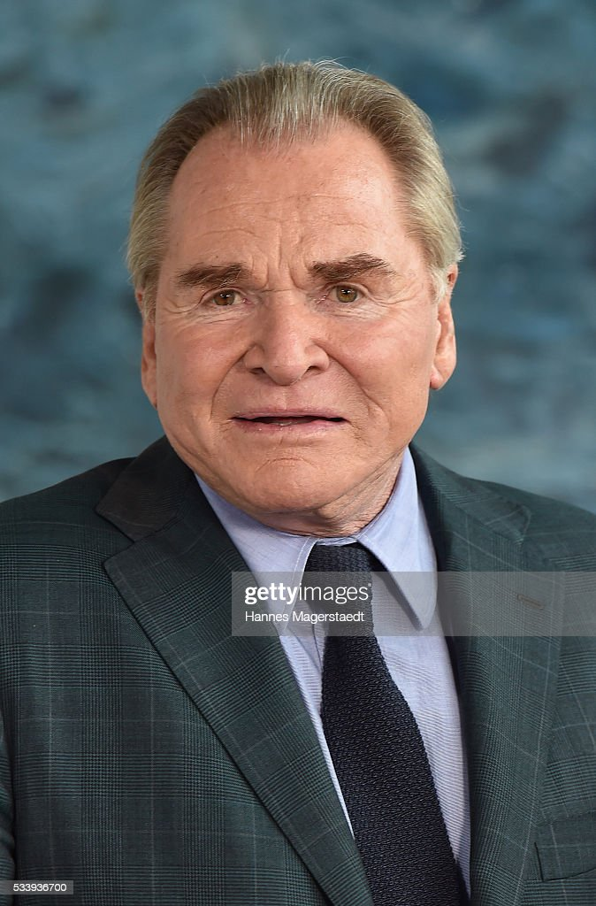 Actor Fritz Wepper during a photocall for the tv show 'Um Himmels Willen' at Literaturhaus on May 24, 2016 in Munich, Germany.
