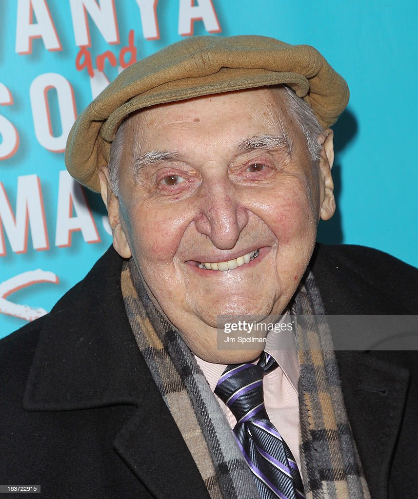 Actor Fyvush Finkel attends the 'Vanya And Sonia And Masha And Spike' Broadway opening night at The Golden Theatre on March 14, 2013 in New York City.