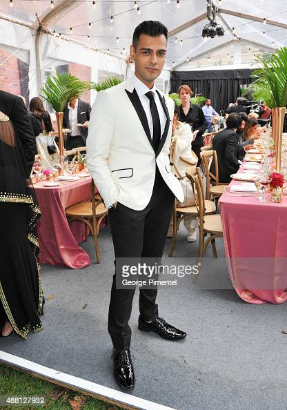 Actor Gabe Grey attends the Holt Renfrew cast dinner for 'Beeba Boys' during the 2015 Toronto International Film Festival at The Mongrel House on...