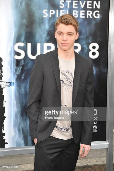 Actor Gabriel Basso arrives at the Premiere of Paramount Pictures' 'Super 8' held at the Regency Village Theater in Westwood