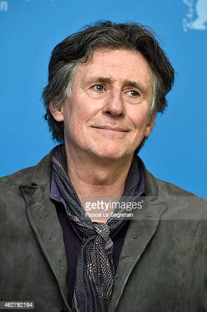 Actor Gabriel Byrne attends the 'Nobody Wants the Night' photo call during the 65th Berlinale International Film Festival at Grand Hyatt Hotel on...