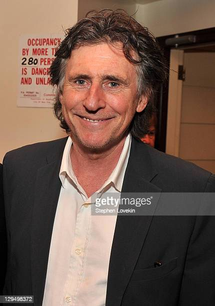Actor Gabriel Byrne attends the presentation of the 2011 Eugene O'Neill Lifetime Achievement Award at The Manhattan Club at Rosie O'Grady's on...