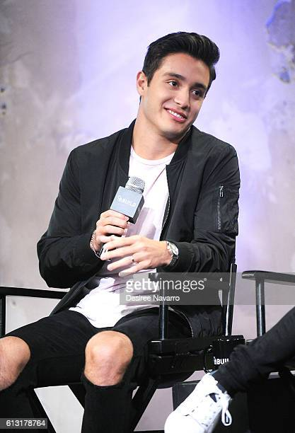 Actor Gabriel Conte attends The Build Series to discuss 'Mr Student Body President' at AOL HQ on October 7 2016 in New York City