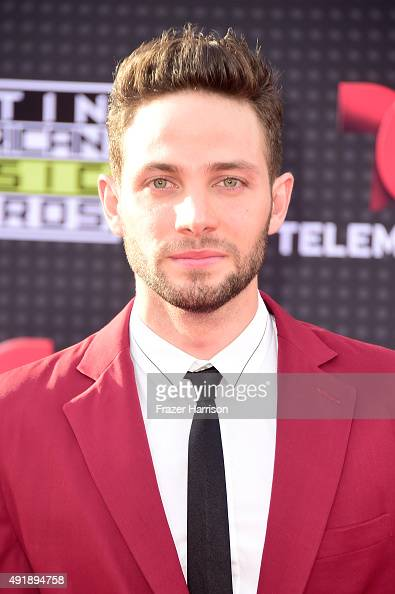 Actor Gabriel Coronel attends Telemundo's Latin American Music Awards at the Dolby Theatre on October 8 2015 in Hollywood California