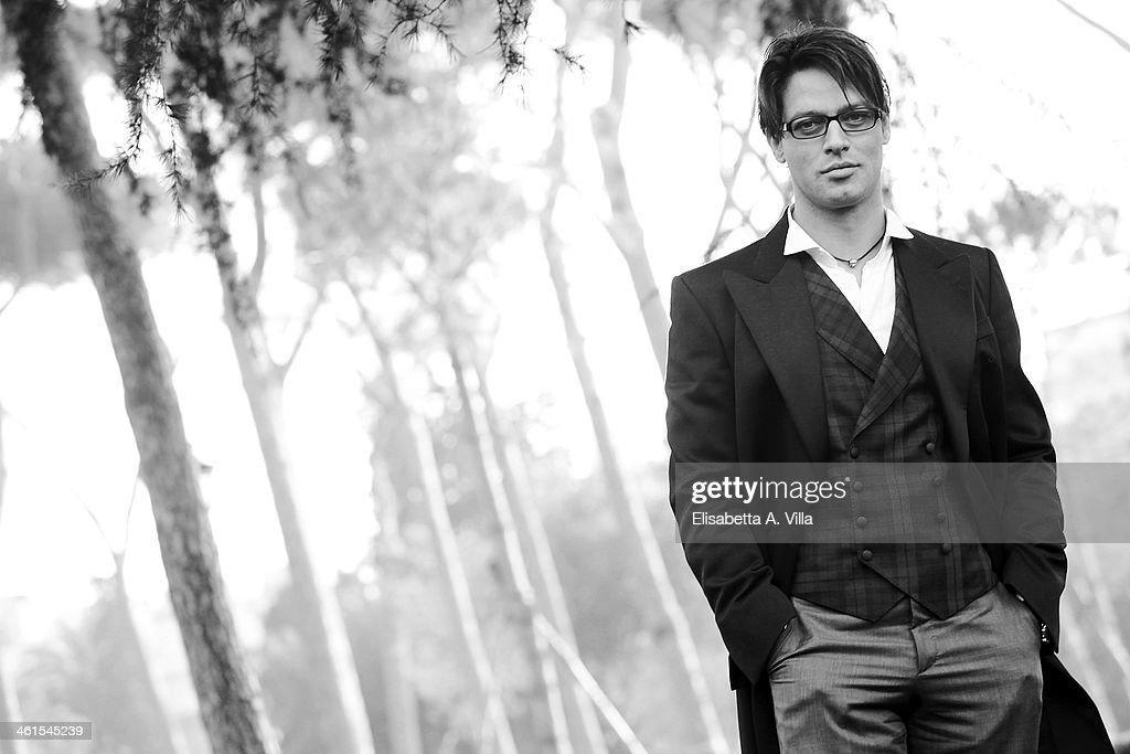 Actor Gabriel Garko attends 'Il Peccato e La Vergogna 2' photocall at Villa Borghese on January 9, 2014 in Rome, Italy.