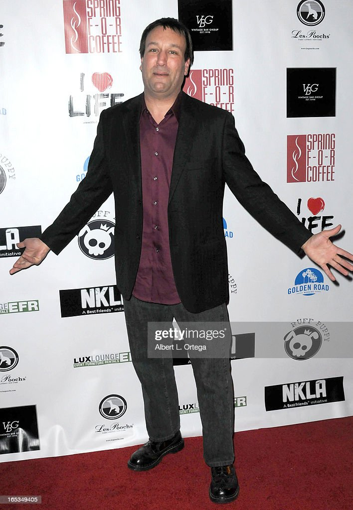 Actor Gabriel Jarret arrives for the No Kill LA Charity Event held at Fred Segal on April 2, 2013 in West Hollywood, California.