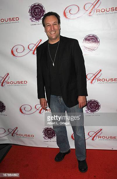 Actor Gabriel Jarret arrives for the Premiere Of 'Aroused' held at Landmark Nuart Theatre on May 1 2013 in Los Angeles California