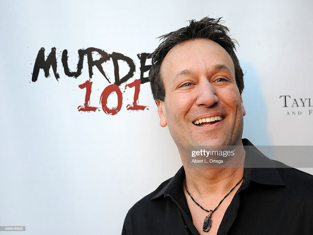 Actor Gabriel Jarret arrives for the Premiere Of Upper Laventille's 'Murder 101' held at Raleigh Studios' Chaplin Theater on June 12, 2014 in Los Angeles, California.