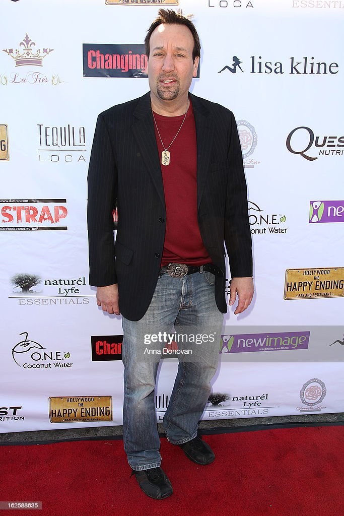 Actor Gabriel Jarret attends the Los Angeles premiere of the movie 'Changing Hands' at The Happy Ending Bar & Restaurant on February 24, 2013 in Hollywood, California.