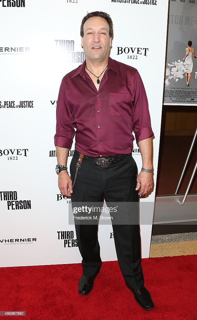 Actor Gabriel Jarret attends the premiere of Sony Picture Classics' 'Third Person' at the Linwood Dunn Theater Pickford Center for Motion Study on June 9, 2014 in Hollywood, California.