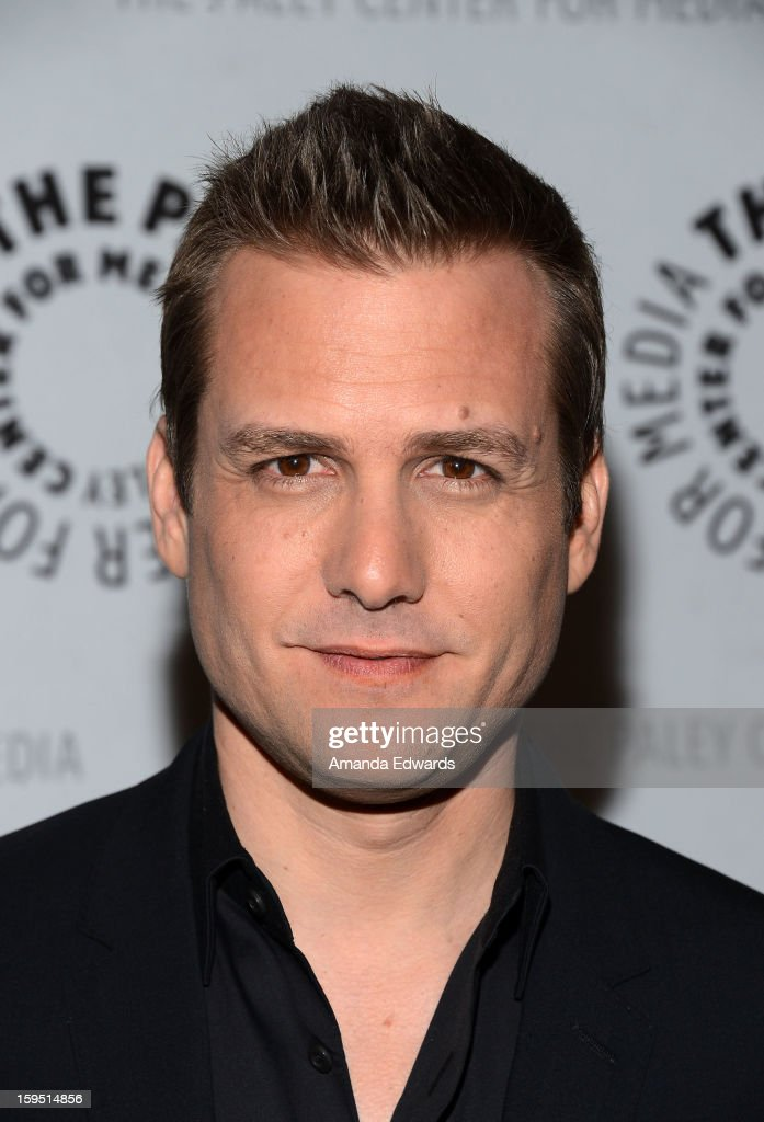 Actor <a gi-track='captionPersonalityLinkClicked' href=/galleries/search?phrase=Gabriel+Macht&family=editorial&specificpeople=240398 ng-click='$event.stopPropagation()'>Gabriel Macht</a> arrives at The Paley Center For Media Presents An Evening With 'Suits' Mid-Season Premiere Screening And Panel at The Paley Center for Media on January 14, 2013 in Beverly Hills, California.