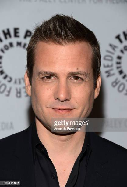Actor Gabriel Macht arrives at The Paley Center For Media Presents An Evening With 'Suits' MidSeason Premiere Screening And Panel at The Paley Center...