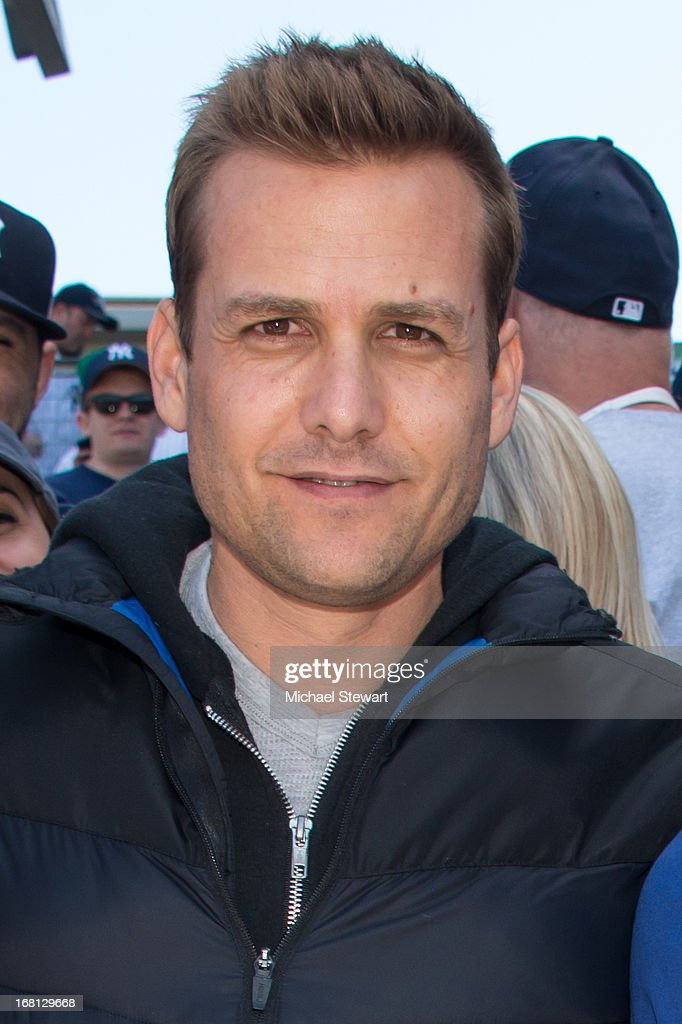 Actor Gabriel Macht attends the Oakland Athletics vs New York Yankees game at Yankee Stadium on May 5, 2013 in New York City.