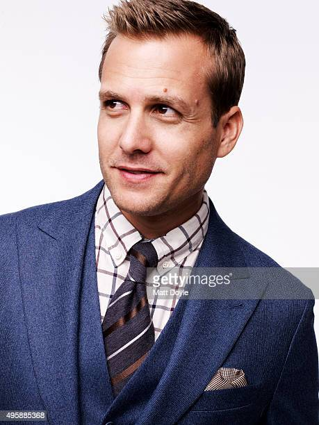 Actor Gabriel Macht is photographed for Sharp Magazine on August 5 in New York City PUBLISHED IMAGE