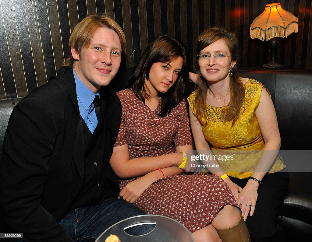 Actor Gabriel Mann, actress Alexandra Mann, and director Rachel Samuels attend the after party for Samuel Goldwyn Films' 'Dark Streets' held at Hush on December 3, 2008 in Hollywood, California..