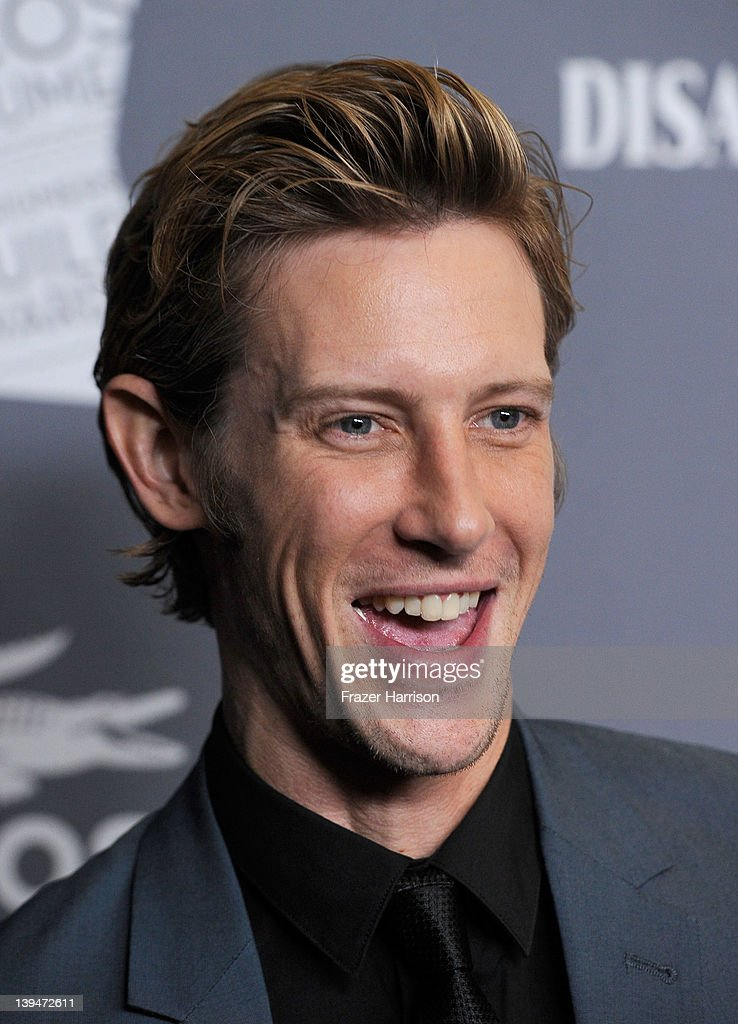 Actor Gabriel Mann arrives at the 14th Annual Costume Designers Guild Awards With Presenting Sponsor Lacoste held at The Beverly Hilton hotel on February 21, 2012 in Beverly Hills, California.