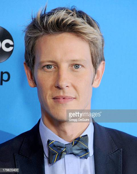 Actor Gabriel Mann arrives at the 2013 Disney/ABC Television Critics Association's summer press tour party at The Beverly Hilton Hotel on August 4...