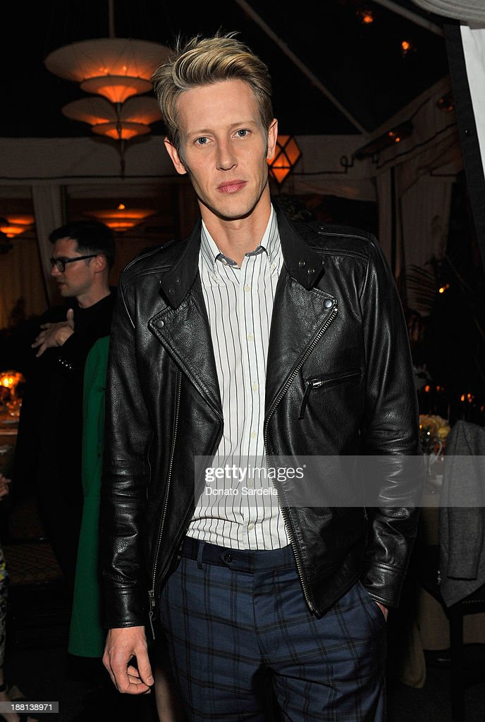 Actor <a gi-track='captionPersonalityLinkClicked' href=/galleries/search?phrase=Gabriel+Mann&family=editorial&specificpeople=228956 ng-click='$event.stopPropagation()'>Gabriel Mann</a> attends a dinner in honor of Erdem hosted by Lisa Love and presented by NARS at Chateau Marmont on November 14, 2013 in Los Angeles, California.