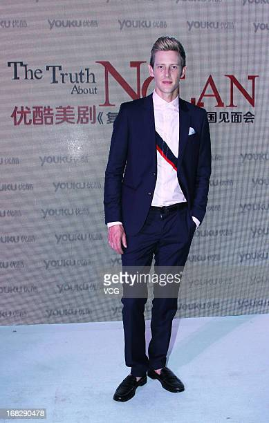 Actor Gabriel Mann attends a meeting with fans on May 7 2013 in Beijing China