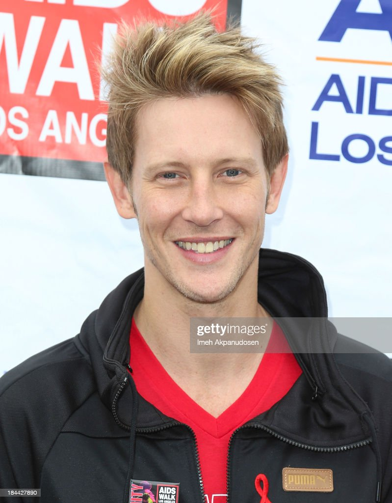Actor <a gi-track='captionPersonalityLinkClicked' href=/galleries/search?phrase=Gabriel+Mann&family=editorial&specificpeople=228956 ng-click='$event.stopPropagation()'>Gabriel Mann</a> attends the 29th Annual AIDS Walk LA on October 13, 2013 in West Hollywood, California.