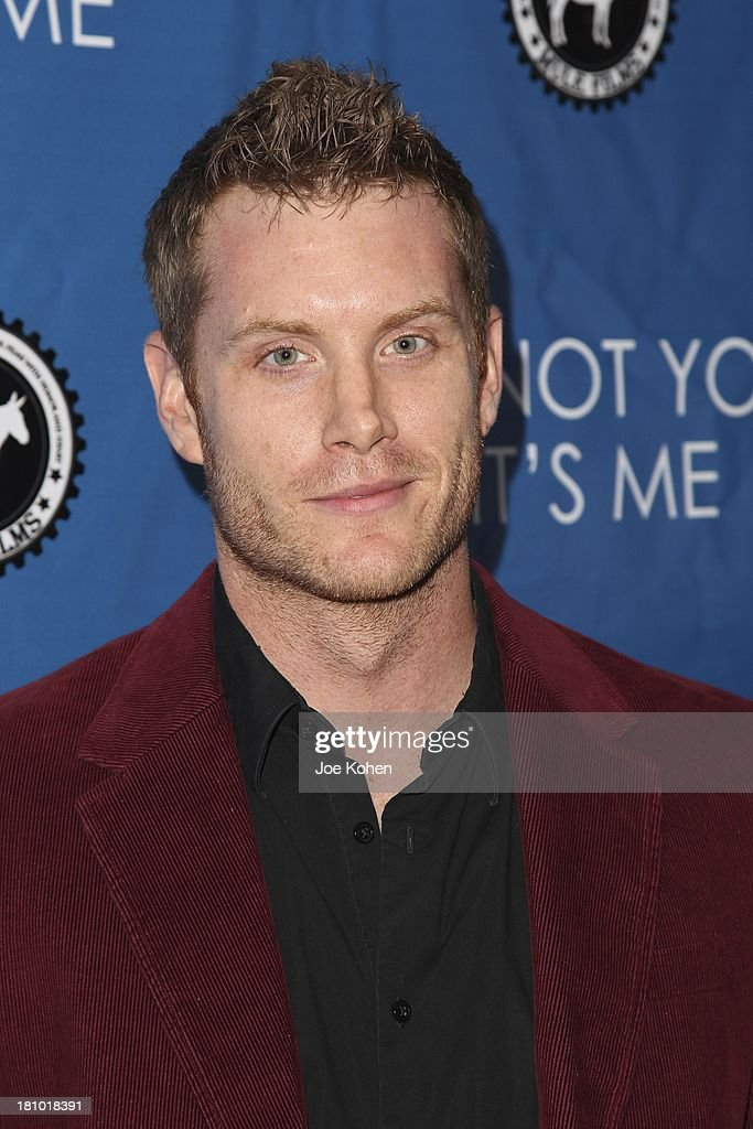Actor Gabriel Voss attends the Los Angeles Premiere of 'It's Not You, It's Me' at Downtown Independent Theatre on September 18, 2013 in Los Angeles, California.