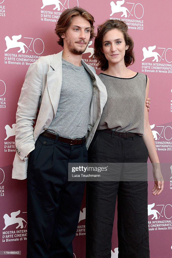Actor Gabriele Rendina and Livia Rossi attend L'Intrepido' Photocall during the 70th Venice International Film Festival at Palazzo del Casino on September 4, 2013 in Venice, Italy.