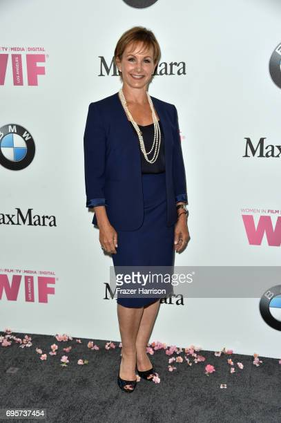 Actor Gabrielle Carteris attends the Women in Film 2017 Crystal Lucy Awards Presented by Max Mara and BMW at The Beverly Hilton Hotel on June 13 2017...