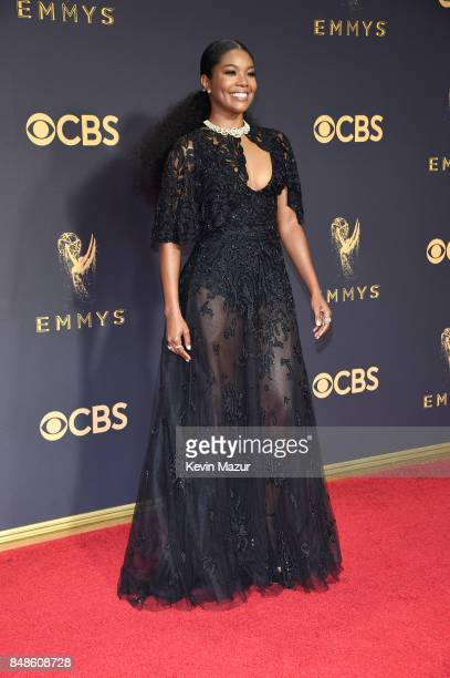 Actor Gabrielle Union attends the 69th Annual Primetime Emmy Awards at Microsoft Theater on September 17 2017 in Los Angeles California