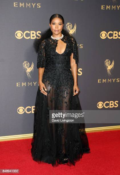 Actor Gabrielle Union attends the 69th Annual Primetime Emmy Awards Arrivals at Microsoft Theater on September 17 2017 in Los Angeles California