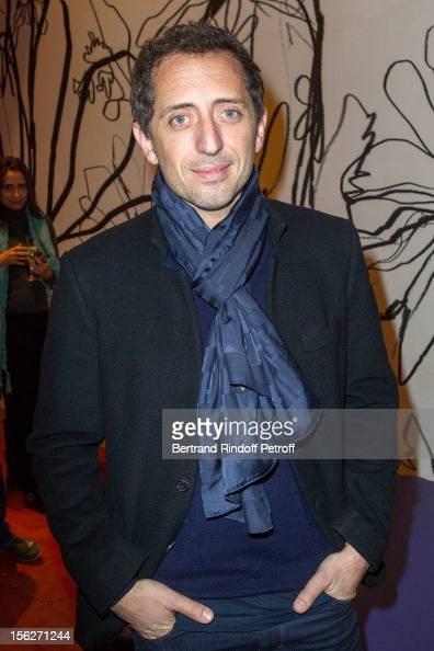 Actor Gad Elmaleh attends 'Le Capital' premiere at Gaumont Parnasse on November 12 2012 in Paris France
