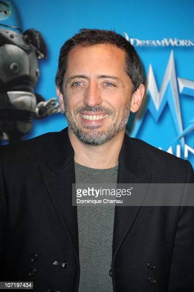 Actor Gad Elmaleh attends 'Megamind' Paris Premiere at Cinema Normandy on November 29 2010 in Paris France