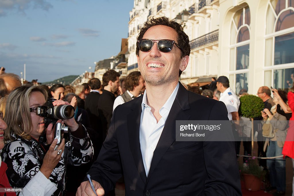 Actor <a gi-track='captionPersonalityLinkClicked' href=/galleries/search?phrase=Gad+Elmaleh&family=editorial&specificpeople=586672 ng-click='$event.stopPropagation()'>Gad Elmaleh</a> attends the 26th Cabourg Romantic Film Festival on June 16, 2012 in Cabourg, France.