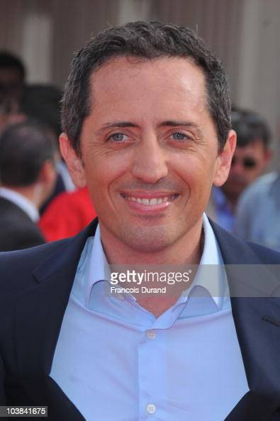Actor Gad Elmaleh attends the premiere for 'Desplicable Me' during the 36th American Film Festival on September 4 2010 in Deauville France
