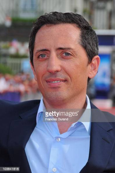 Actor Gad Elmaleh attends the premiere for the film 'Despicable Me' during the 36th American Film Festival on September 4 2010 in Deauville France