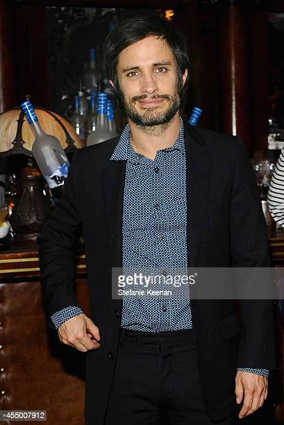 Actor Gael Garcia Bernal at the 'Rosewater' premiere party hosted by GREY GOOSE vodka and Soho House Toronto during TIFF on September 8 2014 in...