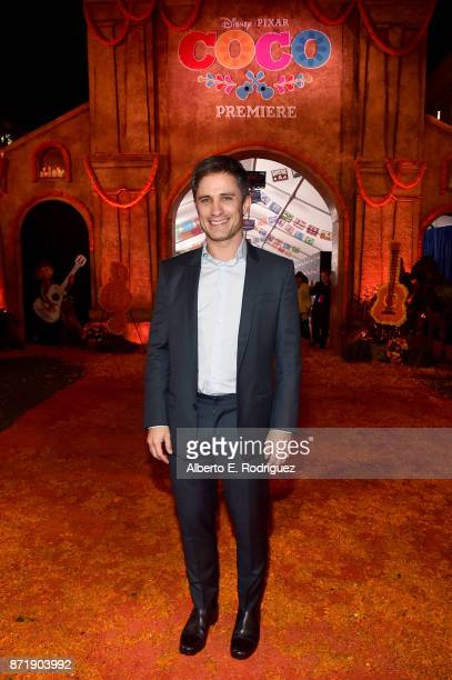 Actor Gael Garcia Bernal at the US Premiere of DisneyPixar's 'Coco' at the El Capitan Theatre on November 8 in Hollywood California