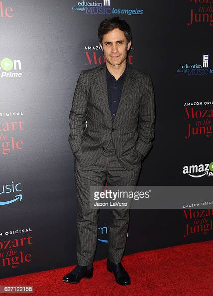 Actor Gael Garcia Bernal attends a screening of 'Mozart in the Jungle' at The Grove on December 1 2016 in Los Angeles California