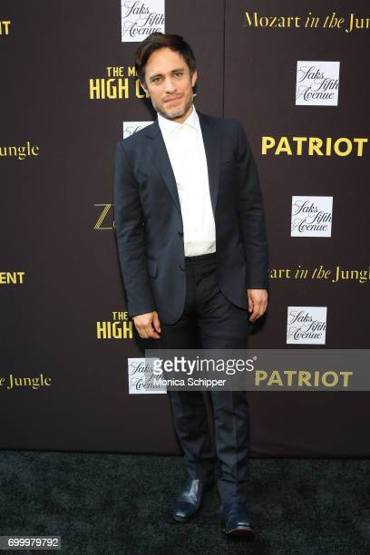 Actor Gael Garcia Bernal attends as SAKS FIFTH AVENUE celebrates potential EMMY nominees on June 22 2017 in New York City
