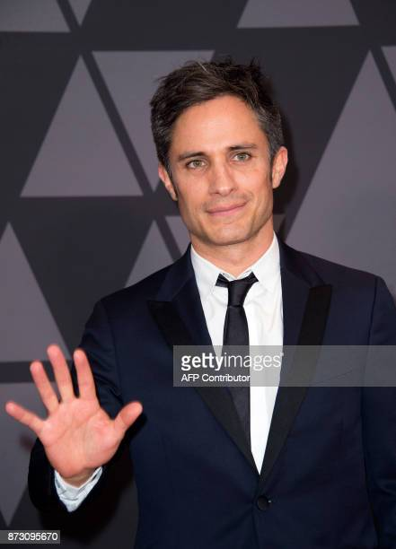 Actor Gael Garcia Bernal attends the 2017 Governors Awards on November 11 in Hollywood California / AFP PHOTO / VALERIE MACON