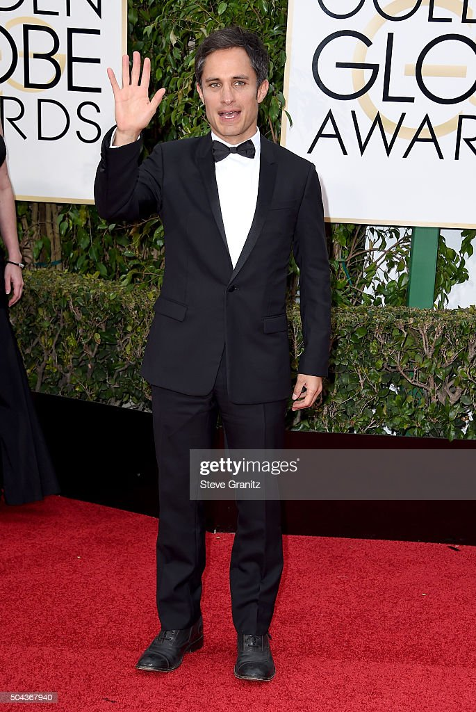 Actor Gael Garcia Bernal attends the 73rd Annual Golden Globe Awards held at the Beverly Hilton Hotel on January 10 2016 in Beverly Hills California