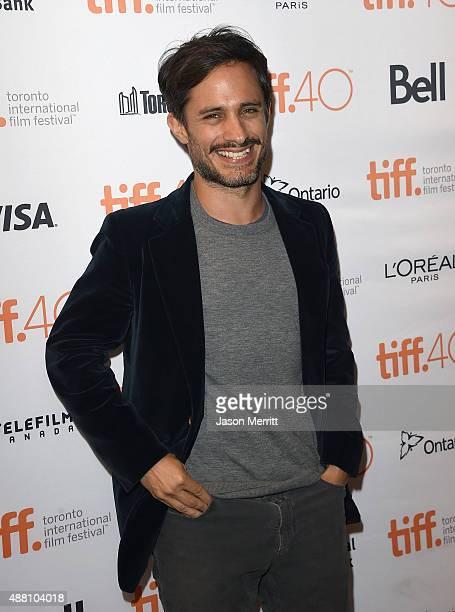 Actor Gael Garcia Bernal attends the 'Desierto' premiere during the 2015 Toronto International Film Festival at The Elgin on September 13 2015 in...