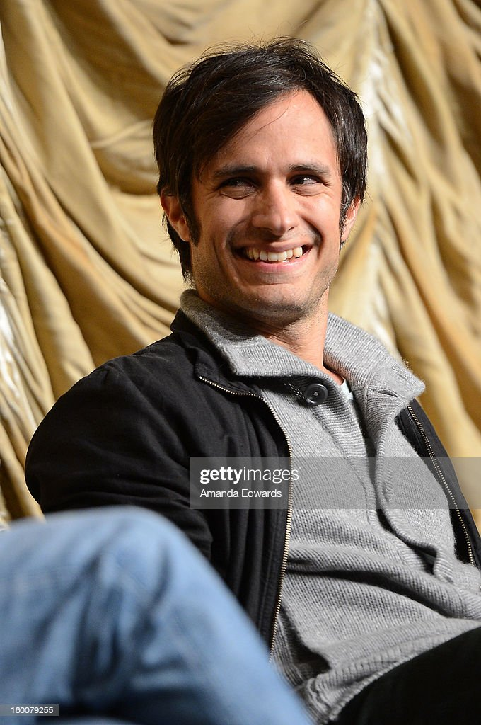 Actor Gael Garcia Bernal attends the Film Independent At LACMA free screening of 'No' co-presented by The New York Times Film Club at the Bing Theatre At LACMA on January 25, 2013 in Los Angeles, California.