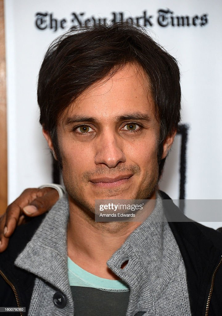 Actor <a gi-track='captionPersonalityLinkClicked' href=/galleries/search?phrase=Gael+Garcia+Bernal&family=editorial&specificpeople=202025 ng-click='$event.stopPropagation()'>Gael Garcia Bernal</a> attends the Film Independent At LACMA free screening of 'No' co-presented by The New York Times Film Club at the Bing Theatre At LACMA on January 25, 2013 in Los Angeles, California.