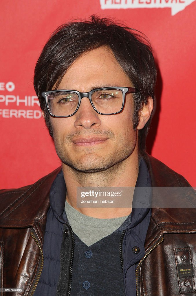 Actor <a gi-track='captionPersonalityLinkClicked' href=/galleries/search?phrase=Gael+Garcia+Bernal&family=editorial&specificpeople=202025 ng-click='$event.stopPropagation()'>Gael Garcia Bernal</a> attends the 'No' premiere at The Marc Theatre during the 2013 Sundance Film Festival on January 18, 2013 in Park City, Utah.