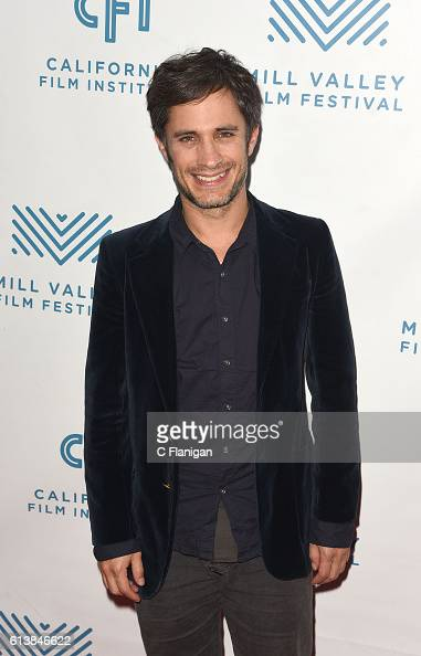 Actor Gael Garcia Bernal attends the screening of 'Neruda' at the 39th Mill Valley Film Festival at Christopher B Smith Rafael Film Center on October...