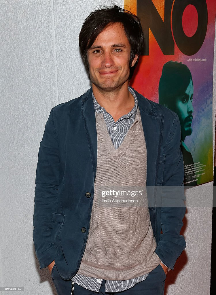 Actor <a gi-track='captionPersonalityLinkClicked' href=/galleries/search?phrase=Gael+Garcia+Bernal&family=editorial&specificpeople=202025 ng-click='$event.stopPropagation()'>Gael Garcia Bernal</a> attends the Sony Pictures Classics Pre-Oscar Dinner at The London Hotel on February 23, 2013 in West Hollywood, California.