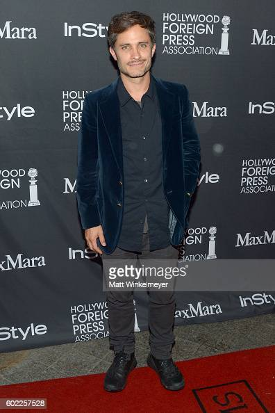 Actor Gael Garcia Bernal attends the TIFF/InStyle/HFPA Party during the 2016 Toronto International Film Festival at Windsor Arms Hotel on September...