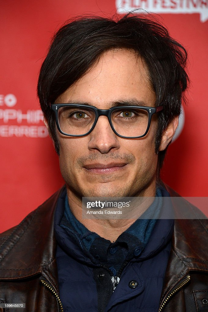 Actor Gael Garcia Bernal attends the 'Who Is Dayani' premiere during the 2013 Sundance Film Festival at The Marc Theatre on January 17, 2013 in Park City, Utah.