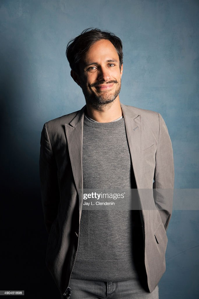 Actor Gael Garcia Bernal, from the film 'Desierto' is photographed for Los Angeles Times on September 25, 2015 in Toronto, Ontario. PUBLISHED IMAGE.