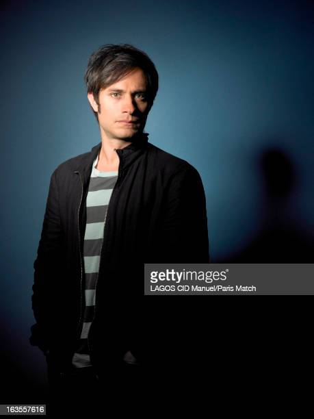 Actor Gael Garcia Bernal is photographed for Paris Match on May 2 2013 in London England